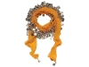BLING: Pure silk, this dazzling piece can be worn around the neck or as a glamorous wrap over a bathing suit. www.glamourpussnyc.com