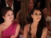 The vibe was festive as Kourtney, Khloe and Kim Kardashian, along with Selena Gomez, admired bikini fashions at the Beach Bunny Swimwear 2011 Fashion Show for the Mercedes-Benz Fashion Week Swim at the Raleigh in Miami Beach, Florida.