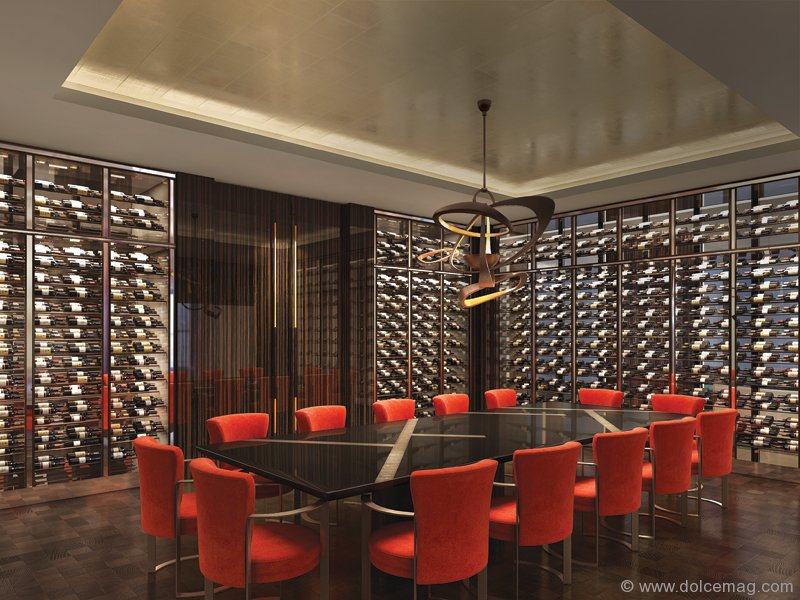 Fendi Ch Teau Residences Boasts A Comprehensive Amenities Package That Includes A Private Cinema With An Adjacent