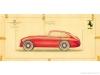 Ferrari 166-195 Sport Coupé MM Figurino a colori 13