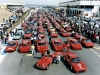 Rally of the South African Ferrari Clubs on the Kyalami Circuit for the 50th Anniversary Celebration, 1997