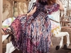 BOHO BABE: Embrace spring's free spirit in a flowing gown that's as bright as the post-rain sunshine / Dress and Shoes, Etro