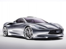 The recently unveiled Infiniti Emerge-E concept – an electrifying super car.