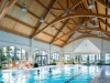 Dive in and swim some laps in this extravagant indoor pool