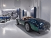 Customized with blues and greens, the Ferrari 166M is fitted with a bespoke cabin | Photos Courtesy Of Museo Enzo Ferrari