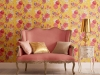 GRAHAM & BROWN CHINOISERIE CANARY WALLPAPER: Inspired by Eastern culture, this wallpaper comes complete with detailed, hand-painted Chinese motifs set upon a bold canary yellow and finished in a soft matte paper   Photo courtesy of Graham & Brown