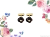 6. The bold onyx Martin Katz knot cufflinks are accented with two round diamonds and set in 18K yellow gold | www.martinkatz.com