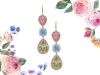5. Sparkle in these spectacular pink, blue and green diamond drop earrings by Martin Katz | www.martinkatz.com