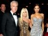 2. Tom Junkersdorf, Donatella Versace and Irina Shayk | Photos courtesy of GQ Men of the Year