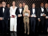 3. Herbert Groenemeyer, Franziska Knuppe, Orlando Bloom, Tom Junkersdorf, Donatella Versace, Patrick Dempsey, Jason Derulo and Dries Van Noten | Photos courtesy of GQ Men of the Year