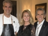 7. Chef Brooke McDougall, Bymark; Cheryl and Rob McEwen, Grand Cru hosts | Photos by George Pimentel Photography