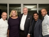 8. Chef Patrick Kriss, Alo; Vizma and Eric Sprott, Grand Cru hosts; Dr. Shaf Keshavjee, UHN; Christopher Sealy, alo | Photos by George Pimentel Photography