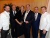 3. Chef Jason Bangerter, Langdon Hall, Relais & Châteaux; Frédéric Engerer, Château Latour; Ellen and Todd Halpern, Grand Cru founder and chair; Dr. Barry Rubin, UHN; chef Daniel Boulud, Daniel | Photos by George Pimentel Photography