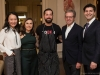 5. Dr. Toni Zhong, UHN; Angela Feldman, Grand Cru host; chef Toben Kochman, Toben Food by Design; David Feldman, Grand Cru host; Dr. Brett Beber, UHN | Photos by George Pimentel Photography