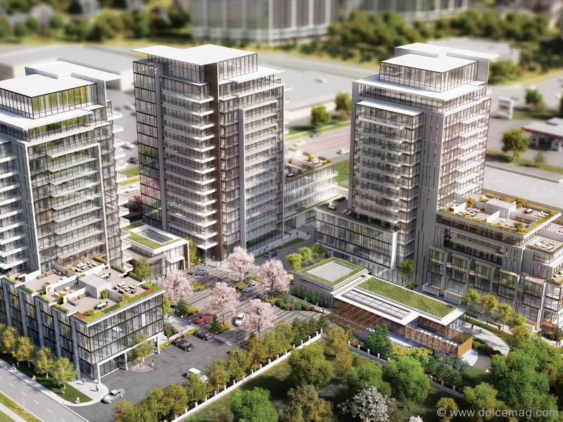 Grand Palace Richmond Hill Luxury Condominiums Dolce