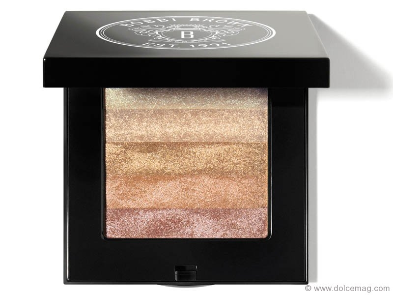 American Dream - Neutral colours with gleams of gold give skin a sexy glow, making this Bobbi Brown Shimmer Brick a must-have product. www.holtrenfrew.com