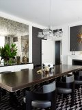 Comparing his interior design style to a tailored piece of fine clothing, Greg Natale masters balance in his residential, retail and commercial projects with thoughtfully styled modern touches and a flair for rich textures