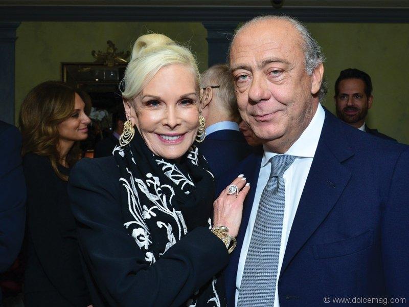 Michele Herbert and Fawaz Gruosi