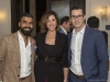 Pankaj Sharm, mortgage broker, Voula Argyropoulos, sales representative, and Trevor Dale, mortgage broker with iBridge Capital