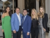 Guests with Jerry Hammond, Mohammad Meysam Zuie and clothing designer Tara Rivas