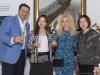 Jerry Hammond, Joanna Chen, Tara Del Zotto and guest