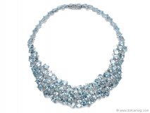 antonini-knar-jewelleryBlue topaz, diamonds and white gold sparkle together in this sugary piece from Antonini Milano's Malibu collection www.antonini.it  Retailer - Knar Jewellery