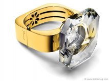 baccarat-atkinsonsBigger is better — so proves this chunky yet sophisticated ring that will leave onlookers breathless  www.baccarat.com  Retailer - Atkinson's