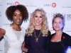 Global TV Personality and event host Rosey Edeh poses with Holly Miklas, event chair, and Terry Pursell, president and CEO of North York General Foundation