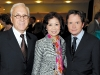Dr. Peter Kircher and Helen Ching-Kircher with actor Michael J. Fox.