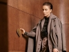 Blouse: AYBI | Coat: PAUL SMITH | Cardigan: BEGG & CO | Pants: BRUNELLO CUCINELLI | Boots: SALVATORE FERRAGAMO | Photography by Oliver Rauh