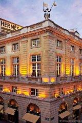 Hermès flagship store on 24 Rue du Faubourg  Saint-Honoré  in Paris.
