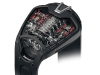 RACE AGAINST TIME Add a touch of intrigue to your style with the powerful Hublot MP-05 LaFerrari Watch, the companion timepiece to the enthralling luxury vehicle. www.hublot.com