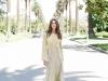 "Look 3 / Gown: Helo Rocha, Crown: Maria Elena Headpieces, Earrings: ""Boden,"" Untamed Petals   Photography by Corina van Sluytman"