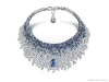 4. Adorn your neck with a cascade of stunning sapphires and dazzling diamonds | Photography by Corina van Sluytman