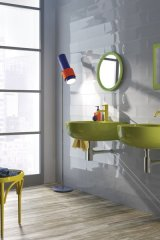 Welcome pop artist Roy Lichtenstein into your home with a new tile collection inspired by his work. Quebec's Ceratec has created 12 tiles based on the visionary's colourful masterpieces | www.ceratec.com