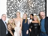 1. From left: Andrew Azoulay, Rae Scheer, Poppy Delevingne, Alexa Polachi, Natalie Geiger, Ilene Joy, Brett Miles  | Photos courtesy of Joe Schildhorn/BFA