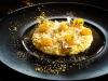 """Chef Francesco Apreda's recipe for Pomo d'Oro (""""Golden Tomato"""") Risotto with provolone cheese and black cardamom"""