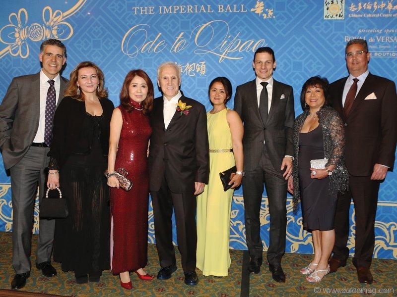 imperial-ball-2016Sergio Sosa, Michelle Zerillo-Sosa, Helen Ching-Kircher, Dr. Peter Kircher, Ferana Weissland, Daniel Weissland, Deborah Gregory and Peter Gregory