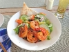 a mediterranean style fattoush salad served at neptunes restaurant