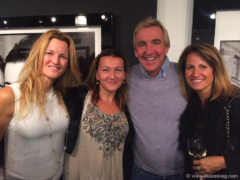 Dee Dee Taylor Eustace, architect and interior designer, with Michelle Zerillo-Sosa, co-founder of Dolce Media Group; Bobby Genovese, chairman of the board at BG Capital Group; and Jo-Ann Folino, sales representative at Re/Max West Realty Inc.