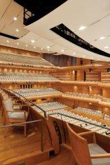 The auditorium of La Maison Symphonique de Montreal. Photo By Tom Arban.