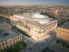 The new Mariinsky Theatre, the first new Russian opera house built since the time of the czars. Photo By Diamond Schmitt Architects.
