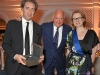 Italian director Paolo Sorrentino, Charles Finch and Jaeger-LeCoultre Global PR & Strategic Partnerships Director Isabelle Gervais