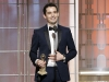 Damien Chazelle, winner of Best Director and Best Screenplay at the 74th Golden Globe Awards