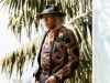 James Goldstein dons a jacket by designer Balmain while posing in his bedroom   Photography by Jesse Milns