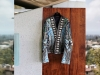 Fashion: Goldstein's clothing collection features many pieces with cutting-edge design, such as this jacket by designer Balmain / www.instagram.com/jamesfgoldstein