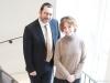 Rabbi Elie Karfunkel and wife Rifky