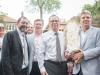Rabbi Elie, Mayor John Tory, Joe Oliver and Howard Sokolowsky