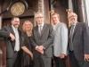 Rabbi Elie, Carolyn Bennett, Joe Oliver, Mayor John Tory and Joe Mihevc
