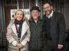 Lynda and Steven Latner with Rabbi Elie